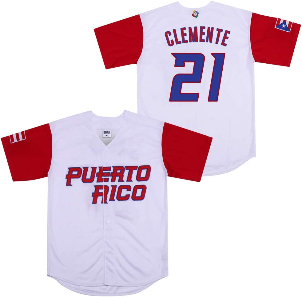 Kooy Roberto Clemente #21 Puerto Rico