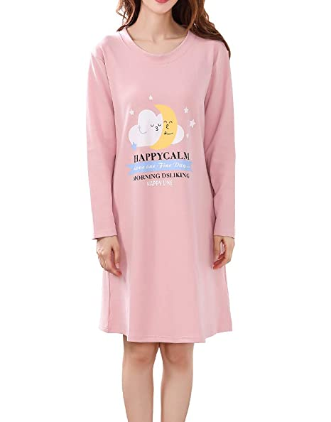 Amazon.com  Vopmocld Big Girls Winter Sleep Shirts Cute Star and ... 440558b59