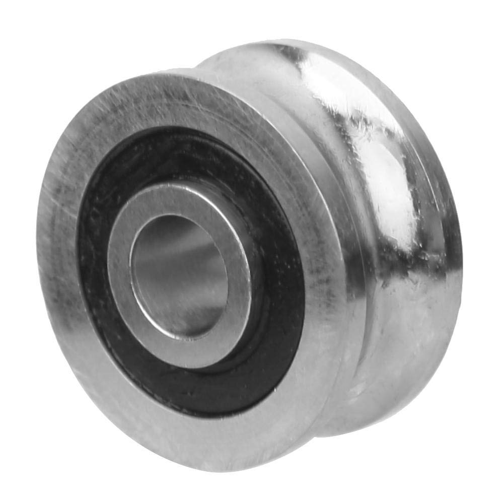 U Groove Bearing SG10 4 x 13 x 6mm Stainless Bearing Steel for Machine Industrial Stainless Bearing Steel