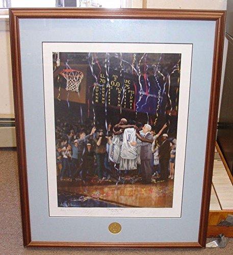2005 Championship Prayer North Carolina Tar Heels Signed 30x38