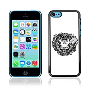Colorful Printed Hard Protective Back Case Cover Shell Skin for Apple iPhone 5C ( Retro Miner )