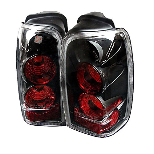 VIPMOTOZ Altezza Euro Style Tail Light Lamp For 1996-2000 Toyota 4Runner - Black Housing, Driver and Passenger Side