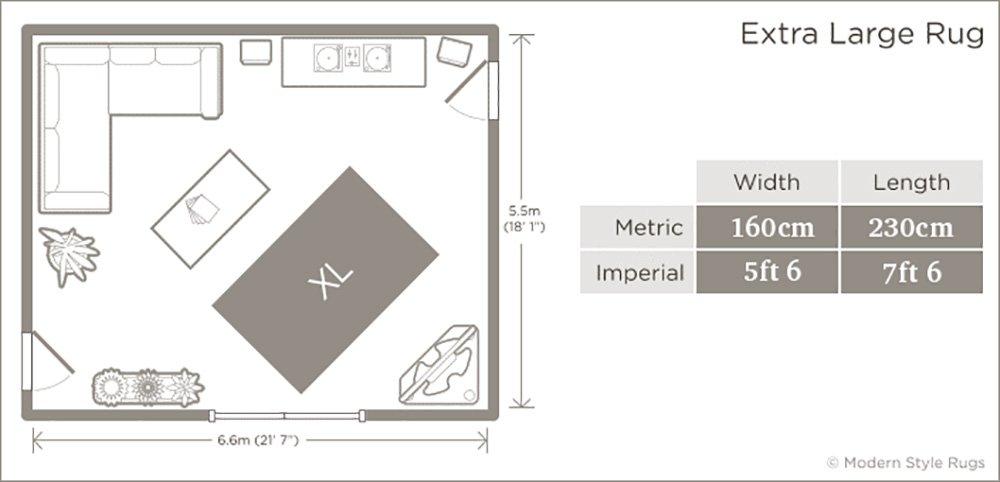 4ft x 5ft 7 New Chocolate Brown Beige /& Cream Modern Contemporary Designer Home Floor Rug 120x170cm