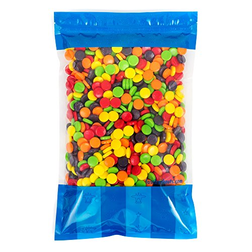 Bulk Chewy Spree Candy - 5 lbs in a Resealable Bomber Bag - Great For Parties - Office Candy Bowls - Vending Refills - Wholesale