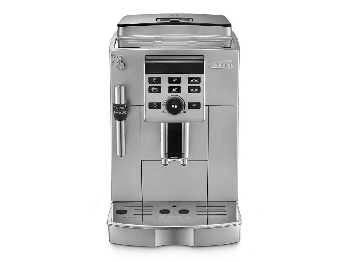 DeLonghi ECAM 23.120.SB Independiente Semi-automática Máquina espresso 1.8L 2tazas Negro, Plata - Cafetera (Independiente, Máquina espresso, 1,8 L, ...