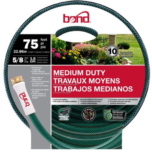 Bond 70277 75-Foot x 5/8-Inch Medium Duty Garden Hose