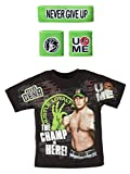 Freeze John Cena Champ is Here WWE T-Shirt Headband Wristbands Boys Juvy-Boys (4)