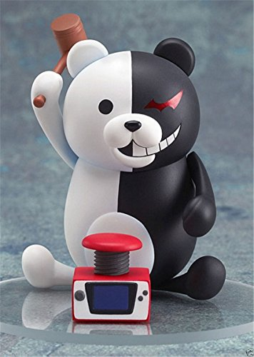 "Phantomx 4""/10cm Nendoroid 313 Anime Dangan Ronpa Monokuma PVC Figure Toy gifts"