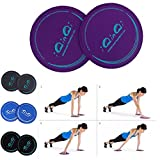Best Body-solid-home-gym-equipment - IQinQi Core Exercise sliders Fitness Workout Gliding Discs Review