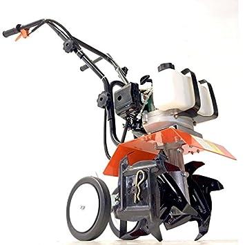 Motoazada, motocultor de combustión de 2 tiempos 52 cc San Marco: Amazon.es: Jardín