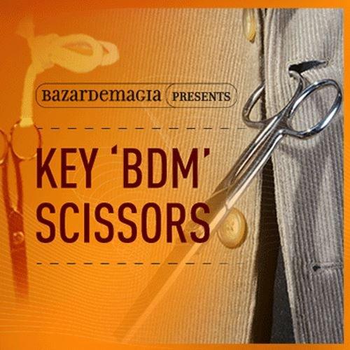 Magic Trick   Key BDM Scissors by Bazar de Magia   Stage   Parlor Performer