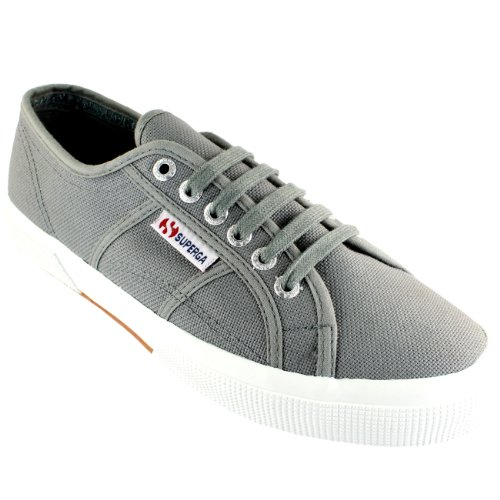 Sneakers Classic Up Grey Plimsoll Mens 2750 Canvas Superga Lace Casual Cotu zqAH6wP
