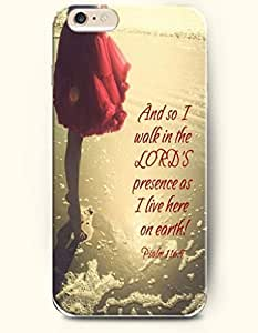 iPhone 6 Case, Shani iPhone 6 (4.7) Hard Case **NEW** Case with the Design of And so I walk in the lord's presence...