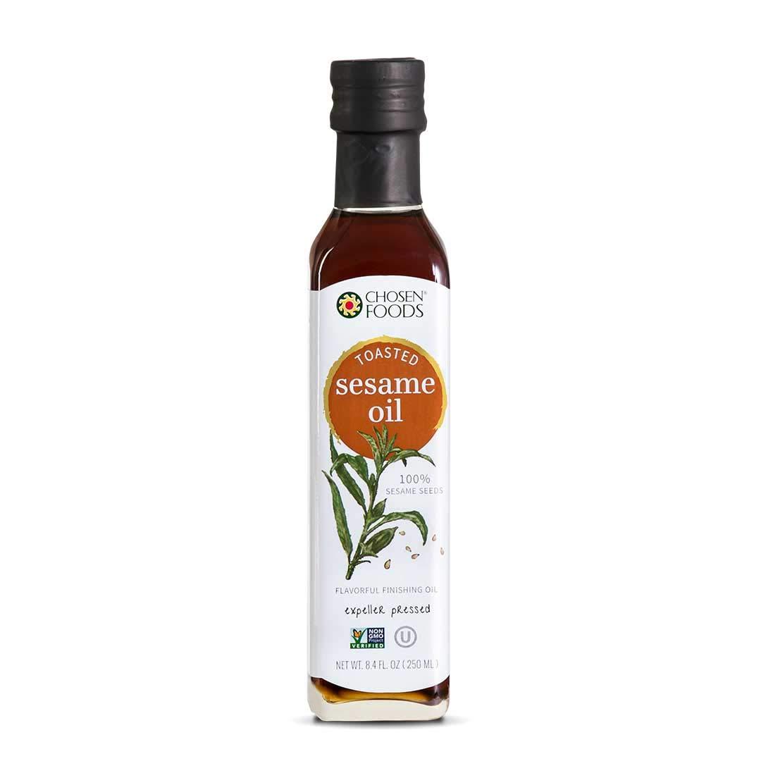 Chosen Foods Toasted Sesame Oil 8.4 oz.