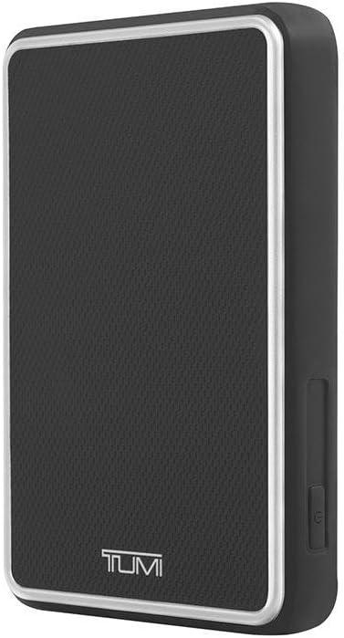 TUMI Portable Battery Bank (8000mAh) - Leather Black
