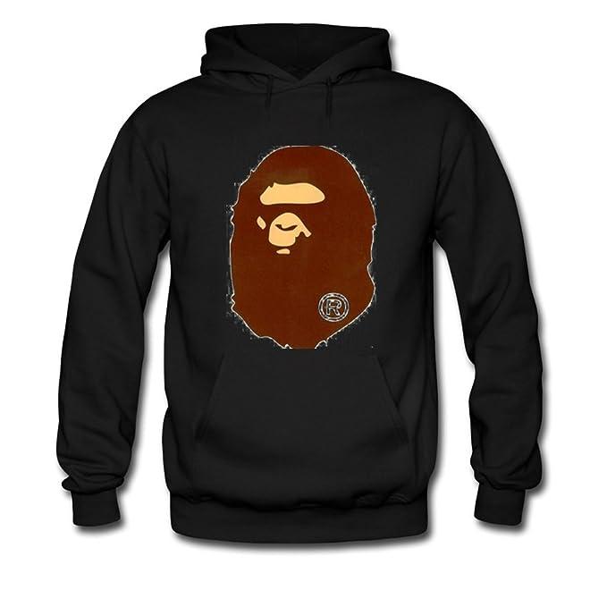 dd29c2add94a Bathing Ape Bape Monkey For Mens Hoodies Sweatshirts Pullover Tops   Amazon.ca  Sports   Outdoors