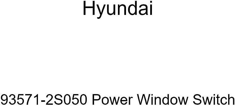 Genuine Hyundai 93572-3S000-YDA Power Window Main Switch Bezel