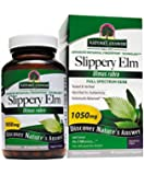 Nature's Answer Slippery Elm Bark Vegetarian Capsules, 90-Count