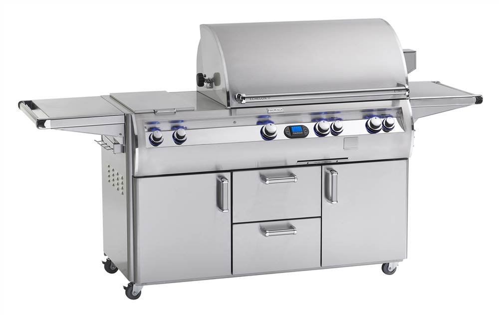 Echelon Diamond E790s Stand Alone Grill (Grill w Power Hood Remote & All IF Burners-NG)