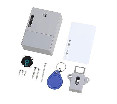 Cerradura de gabinete, tarjeta RFID Cerradura de cajón ...