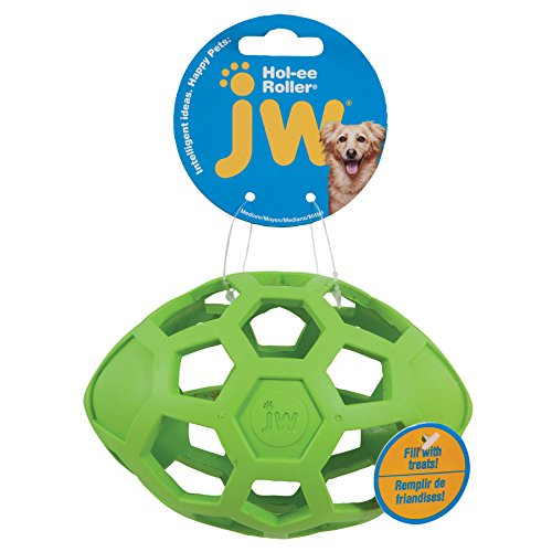 Picture of JW Pet Company HOL Ee Roller Egg Pet Toy Balls, Medium