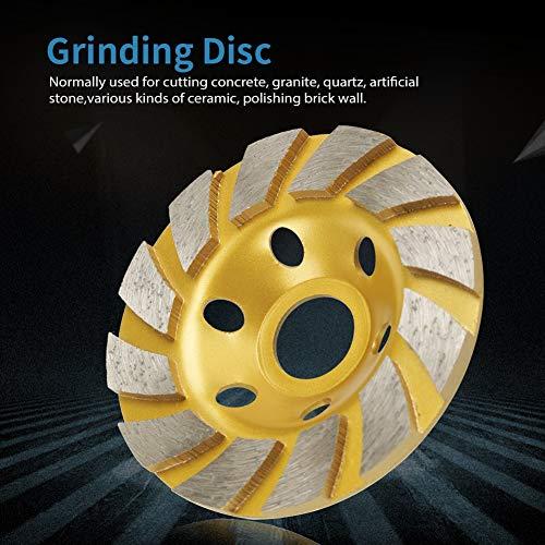 Fictor 100ミリメートル* 4.5ミリメートルダイヤモンドセグメント砥石ディスク大理石コンクリート・ストーンのために6つの穴