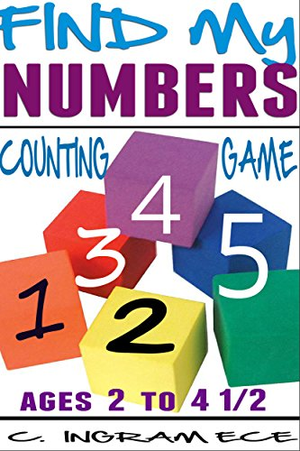 Find My Numbers Preschool Counting Game: Early Childhood Education