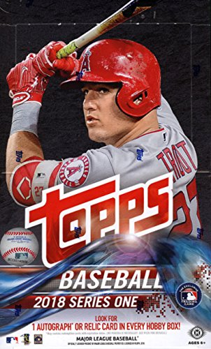 2018 Topps Series One Baseball Hobby Box - Factory Sealed
