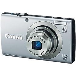 Canon PowerShot A2300 16.0 MP Digital camera (Silver) by Canon