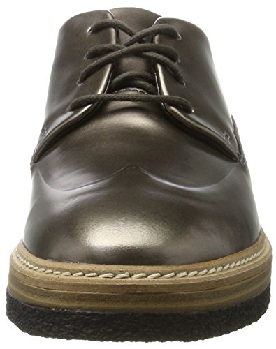 Clarks Dame Zante Zara Brogues Beige (tin Metallisk) is1orNr