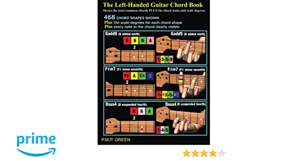 The Left-Handed Guitar Chord Book: Shows the most common chords plus ...
