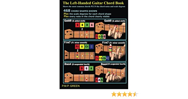 The Left-Handed Guitar Chord Book: Shows the most common chords ...