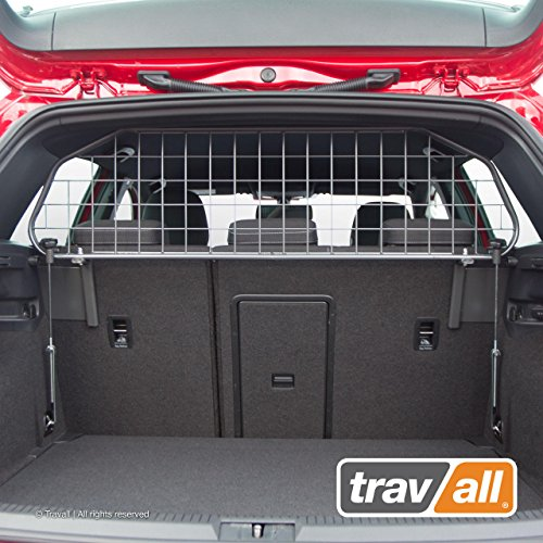Travall Guard Compatible with Volkswagen Golf Hatchback (2012-Current) Also for Golf GTE (2014-CURRENT) TDG1409 - Rattle-Free Luggage and Pet Barrier