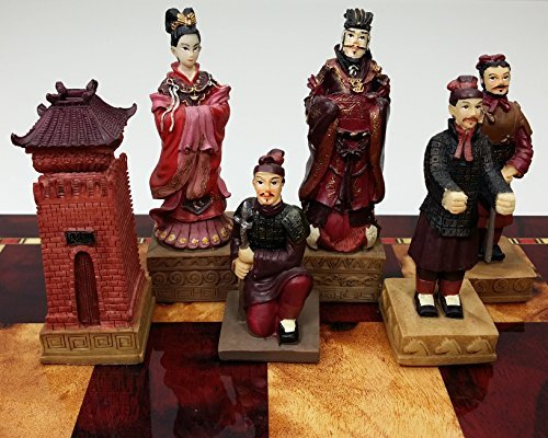 Qin Terra Cotta Army Chessmen by CHH