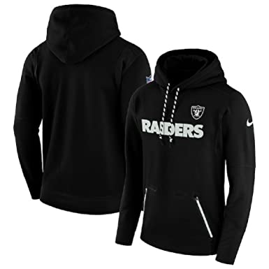 f28f4dd8ef83a6 Amazon.com  NIKE Men s Oakland Raiders Sideline Player Therma-Fit ...