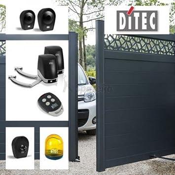 DITEC – Motorización automatismo de puerta corredera 2 vantaux Facil Kit 24 V DITEC – doitfchl...: Amazon.es: Bricolaje y herramientas