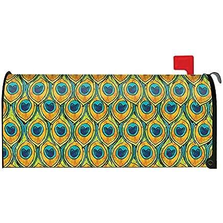 Peacock Decorative Mailbox Cover