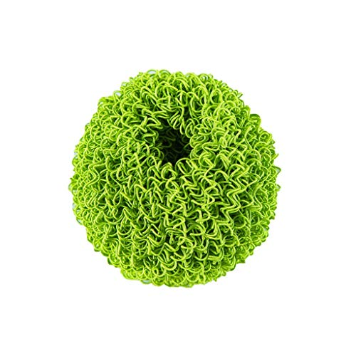 Iusun Scratch-Free Dish Brush,Cleaner Non-Scratch Magic Washing Kit for Home Kitchen Sink Rub Pot Rust Focal Stains Sponge Removing Cleaning Brushes Tool (Green) (Hand Washing Sink May Be Used For)