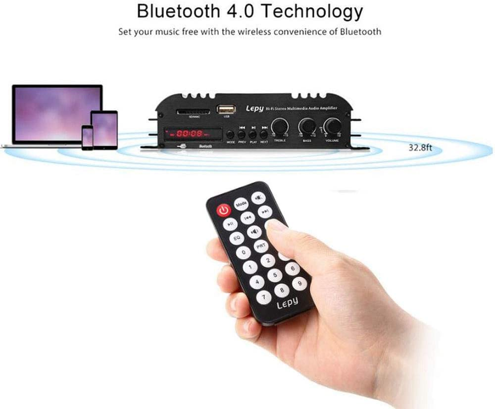 Car Audio Car Electronics ghdonat.com PolarLander Bluetooth HiFi ...