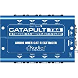 Radial Catapult TX4 Cat 5 Analog Snake Transmitter with 4 XLR-F Inputs