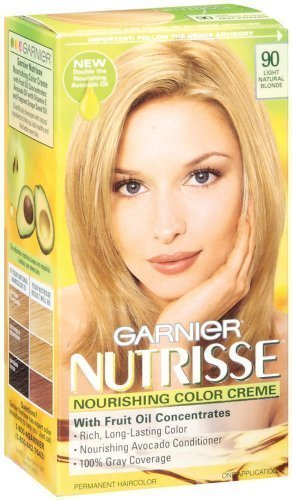 Garnier Nutrisse coloration, 90 Lumière Macadamia Natural Blonde