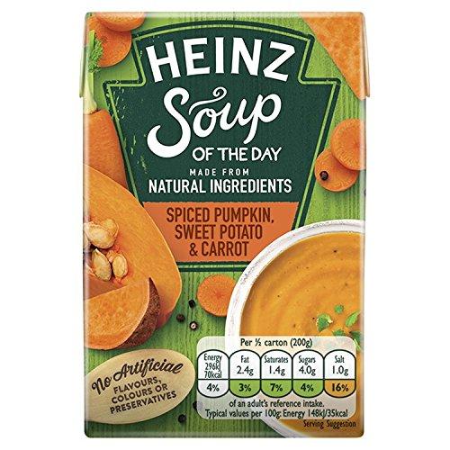 Heinz Soup Of The Day Spiced Pumpkin,Sweet Potato And Carrot Soup - Sweet Heinz Potatoes