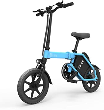 ABYYLH Bicicleta Electrica Plegable Paseo Fat E-Bike Unisex ...