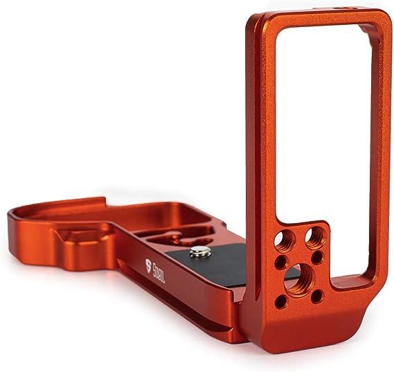 Stabil Lsiv A9 L Platte Halterung Kompatibel Mit Sony A9ii A7riv A7r4 Orange
