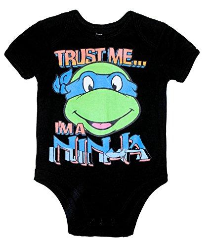 TMNT TRUST ME... I'M A NINJA Baby Boys Bodysuit Dress Up Outfit (6-9 Months) ()