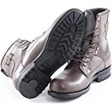 G-star Raw Mens Patton III Marker Leather Boot | Grey
