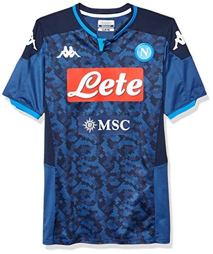 Ssc Napoli Italian Serie A Men's Away Goalkeeper Match Shirt, Blue, L