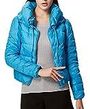 Generic Women's Short-style Long-sleeve Coat M Blue