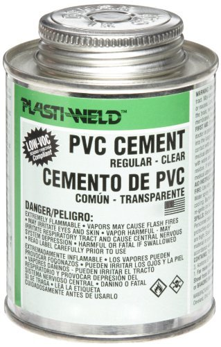 - Morris Products G30356S 303 PVC Cement, Quick-Setting, Regular Bodied, Clear, 1 Pint (2)