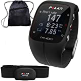 Polar 90051339- M400 GPS Training Companion with Heart Rate with Bag - Black
